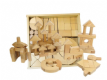Wooden Blocks - Set 92 - Without Tray